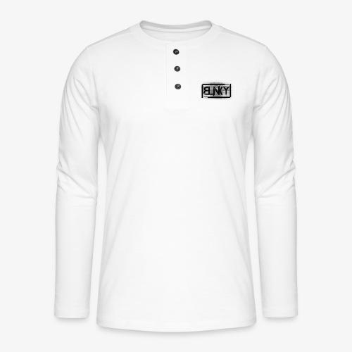 Blinky Compact Logo - Henley long-sleeved shirt