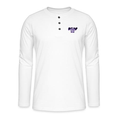 1494527589231 - Henley shirt met lange mouwen