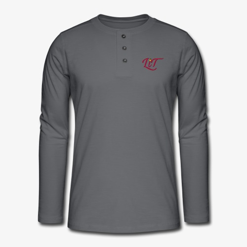 LiT CO Logo #1 - Henley long-sleeved shirt