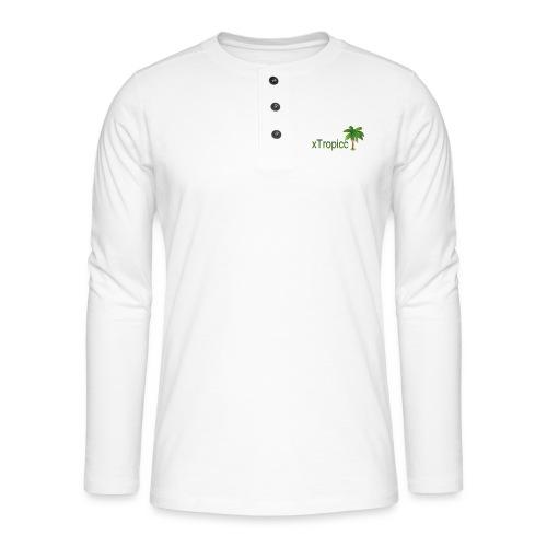 tropicc - T-shirt manches longues Henley