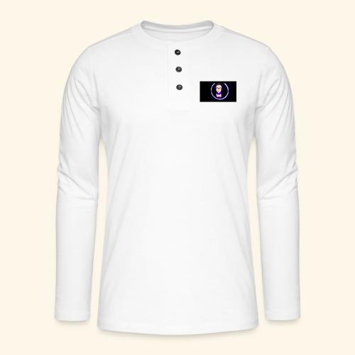 Logo YouTube - T-shirt manches longues Henley