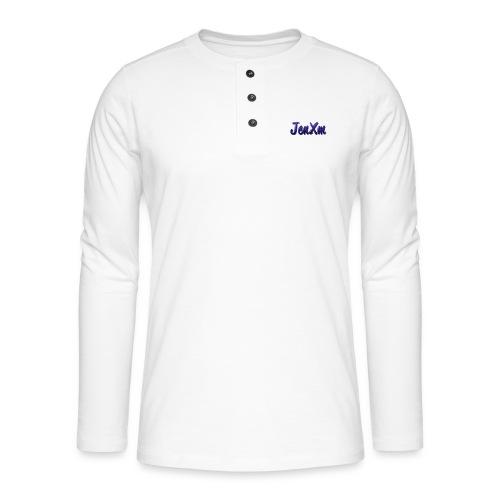 JenxM - Henley long-sleeved shirt