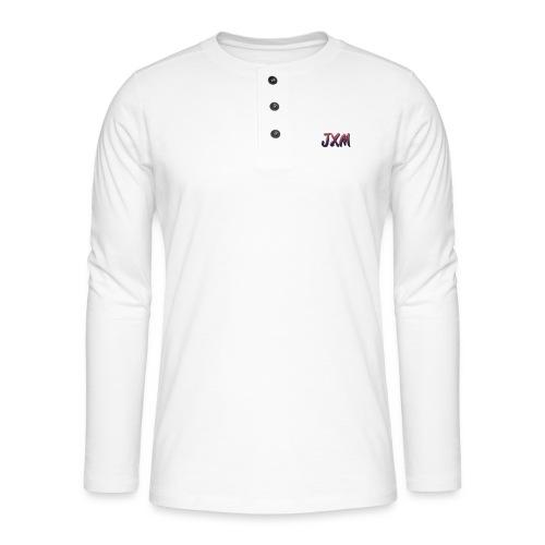 JXM Logo - Henley long-sleeved shirt