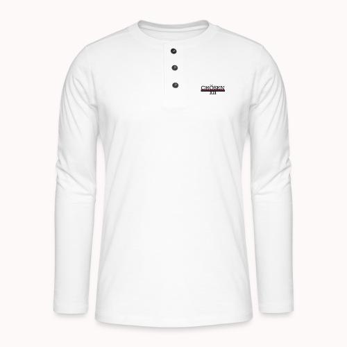 ChosenXII - Henley shirt met lange mouwen