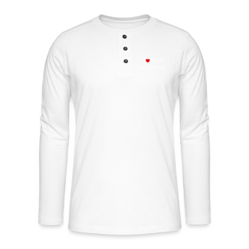 I ❤️ FFWB #DAHOAM - Henley Langarmshirt
