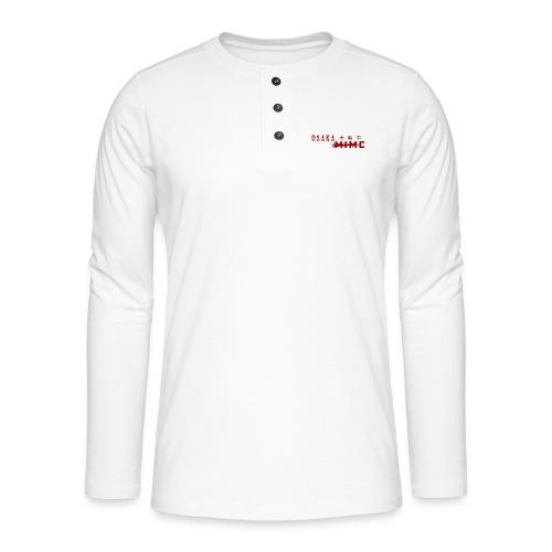 Osaka Mime Logo - Henley long-sleeved shirt