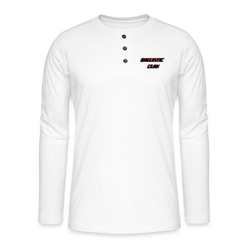 BallisticClan - Henley shirt met lange mouwen