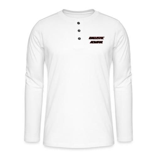 BallisticAdmiral - Henley shirt met lange mouwen