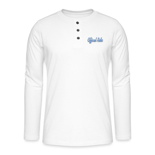 Offical Ride - Henley Langarmshirt