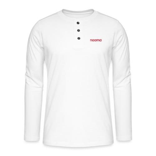 Nooma - Henley shirt met lange mouwen