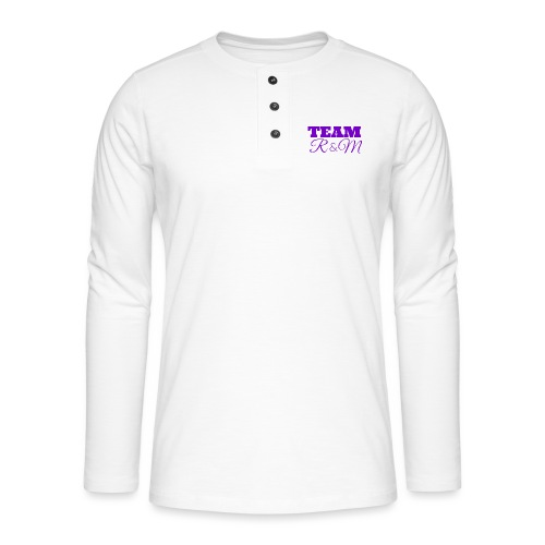 Team R N M Purple, W - Henley long-sleeved shirt