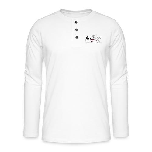 All Zet Logo - Henley T-shirt med lange ærmer