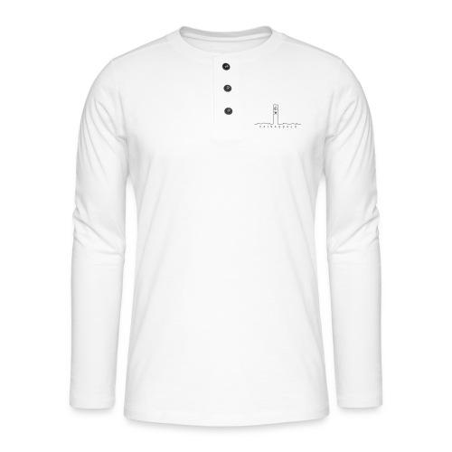 Taivassalo -printti - Henley pitkähihainen paita