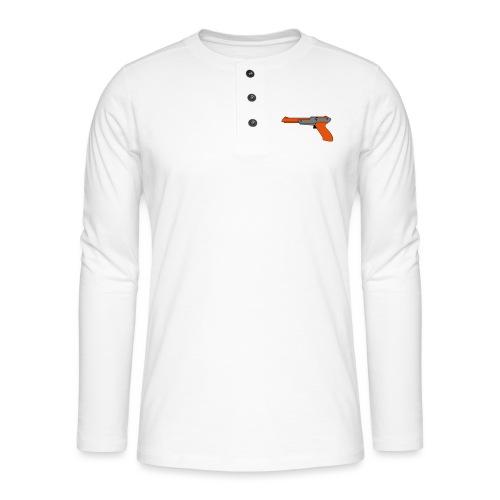 gun Zapper NES SUPER BROS HUNT DUCK - T-shirt manches longues Henley