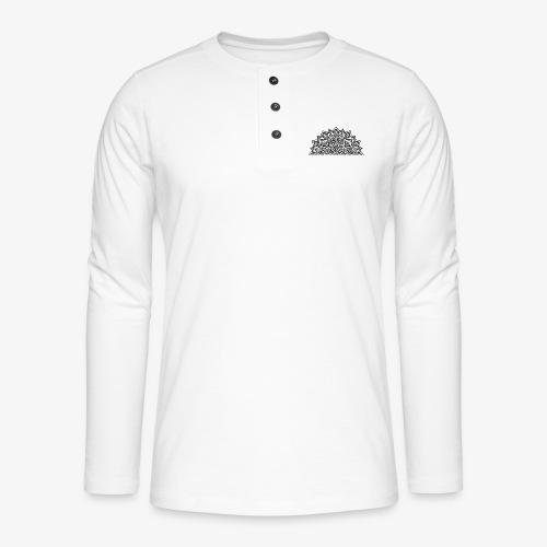 mandala2 - Henley long-sleeved shirt