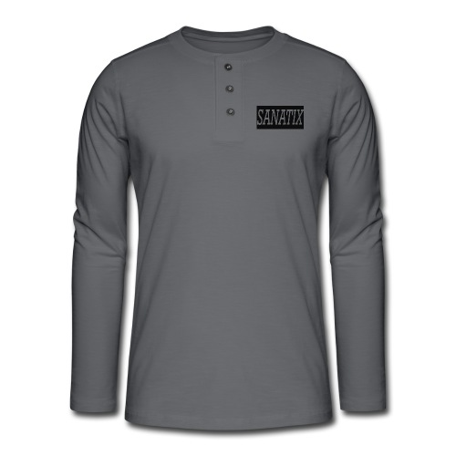 SanatixShirtLogo - Henley long-sleeved shirt
