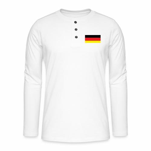Deutschland Weltmeisterschaft Fußball - Henley Langarmshirt