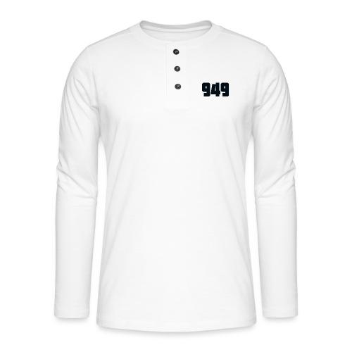 949black - Henley Langarmshirt