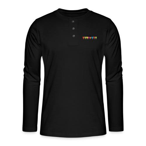 Not Vegan - Henley long-sleeved shirt
