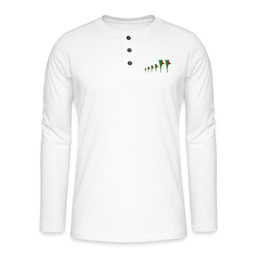 Galoloco - Familia 4 - Henley long-sleeved shirt