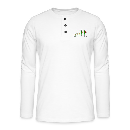 Galoloco - « Família » - T-shirt manches longues Henley
