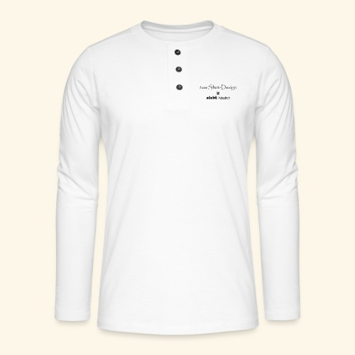 test_shop_design - Henley Langarmshirt