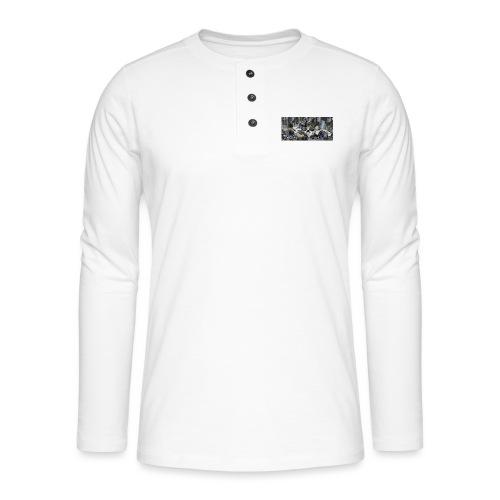 calavera style - Henley long-sleeved shirt