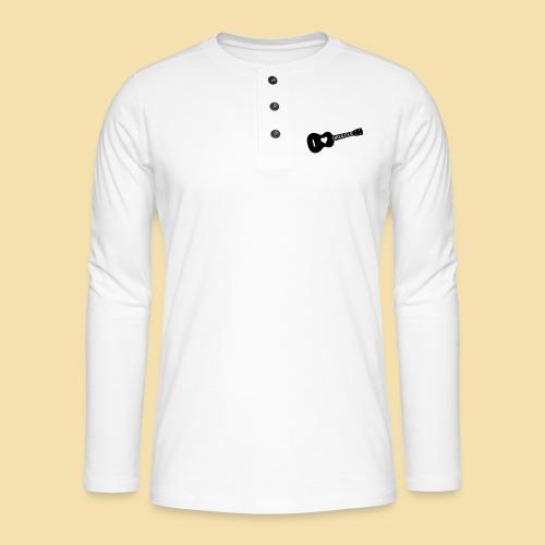 I love UKULELE - Henley Langarmshirt