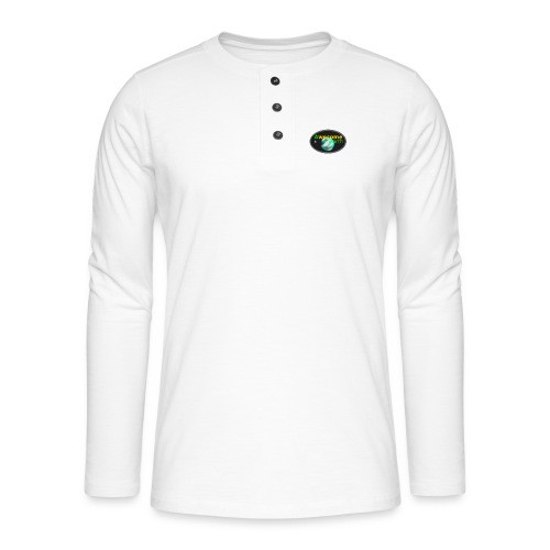 awesome earth - Henley long-sleeved shirt