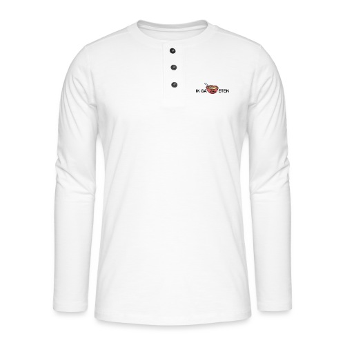 IK GA PAP ETEN - Henley shirt met lange mouwen