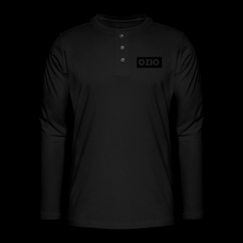 Ozio's Products - Henley long-sleeved shirt