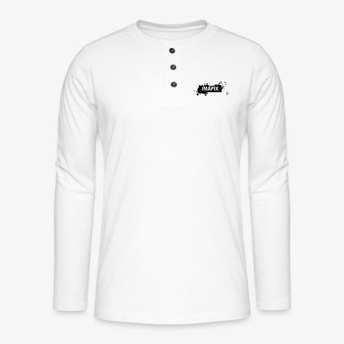 IMAPIX ANIMATION Rectro02 - T-shirt manches longues Henley