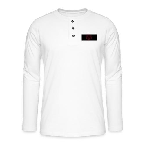 HHHHH - Henley T-shirt med lange ærmer