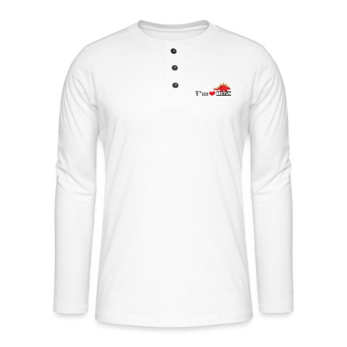 bretun negro - Camiseta panadera de manga larga Henley