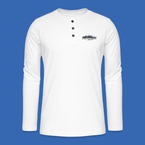 Designated Black - Henley Langarmshirt