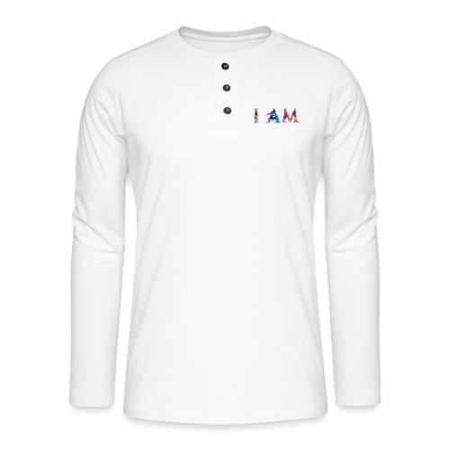 I AM - T-shirt manches longues Henley