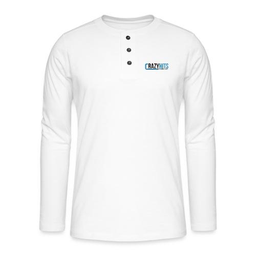 CrazyHIT - T-shirt manches longues Henley