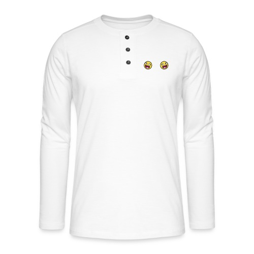Design lolface knickers 300 fixed gif - Henley long-sleeved shirt