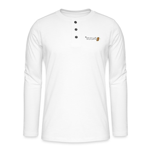 Papillon de bonheur - T-shirt manches longues Henley