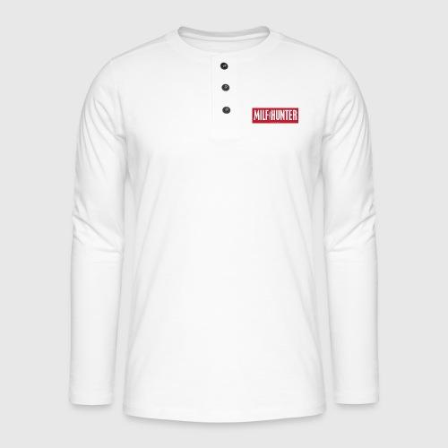 MILFHUNTER1 - Henley T-shirt med lange ærmer