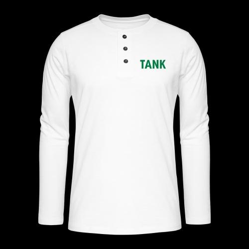 tank - Henley shirt met lange mouwen