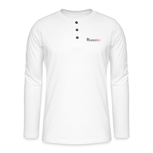 basica mujer - Camiseta panadera de manga larga Henley