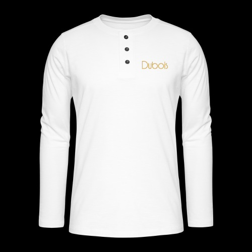 Dubois - Henley shirt met lange mouwen