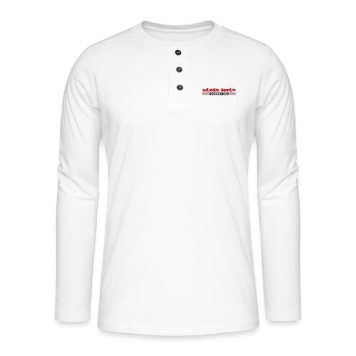 Asociación Adjowa Goudjo - Camiseta panadera de manga larga Henley