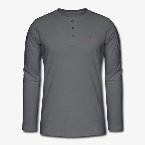 Baldmonk Classic Logo - Henley long-sleeved shirt