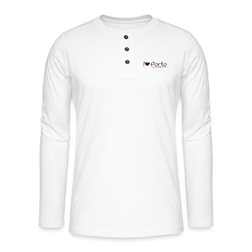 I Love Porto - T-shirt manches longues Henley