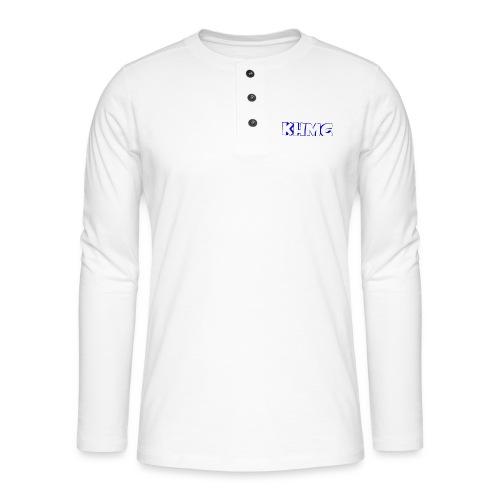 The Official KHMC Merch - Henley long-sleeved shirt