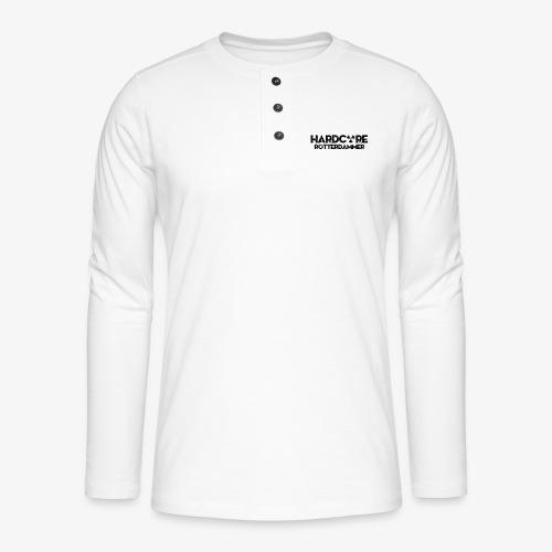 Hardcore Rotterdammer - Henley shirt met lange mouwen