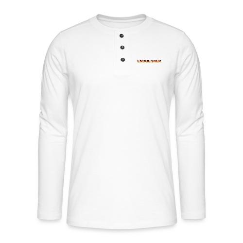 ENDGEGNER - Henley Langarmshirt