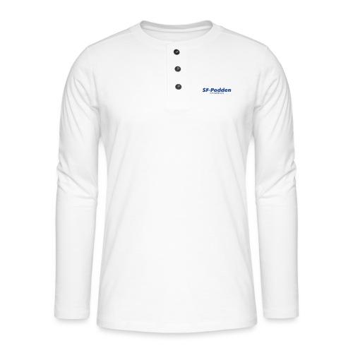 Skrift med web - Henley langermet T-skjorte